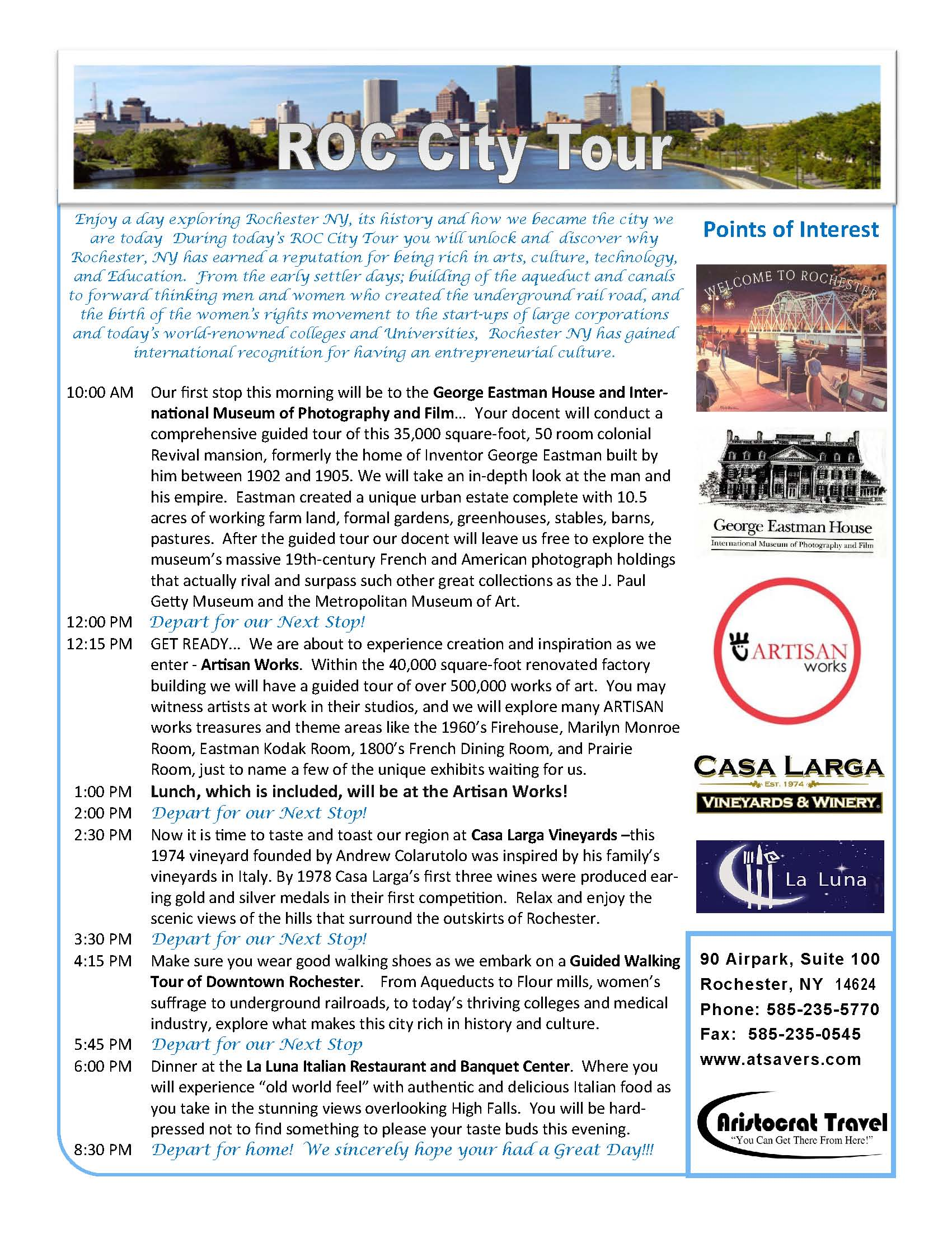 Roc City Tour